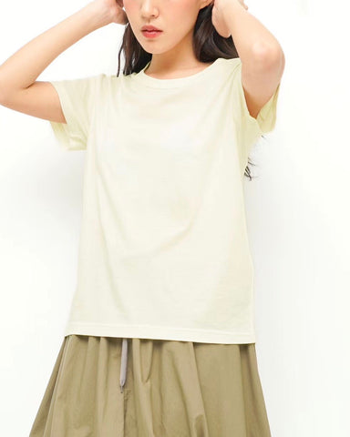 Fine Cotton Essential Tee