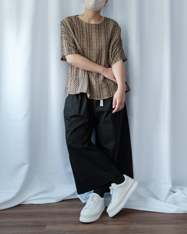 Double Pocket Contrast Pants