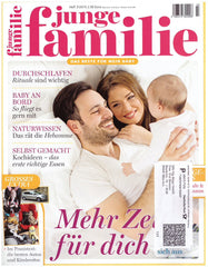 Junge Familie features safe BPA-free baby bottle mimijumi