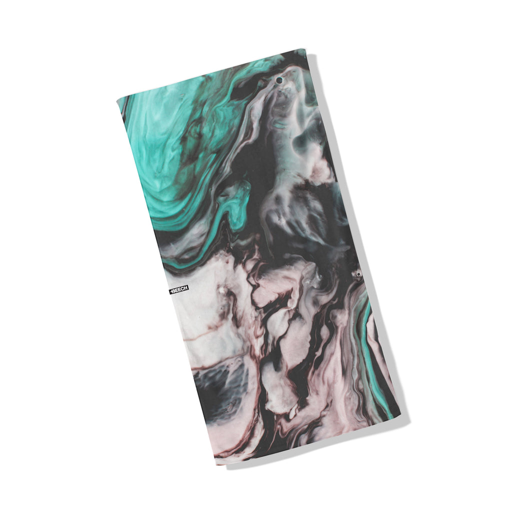 """Marble Sea"" Turquoise Pink - Dual-Strength Technology"