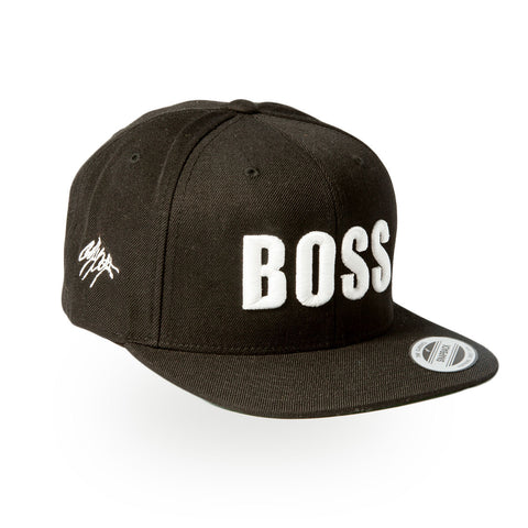 BOSS Snapback - Black/White