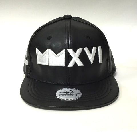 MMXVI Leather Premium Hat