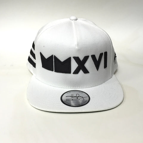 MMXVI Hat white