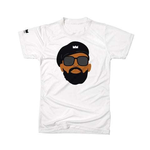 MM Face Tee - Unisex (White)