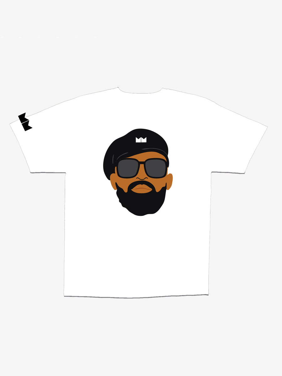 MM Face Tee - White