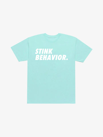 Stink Behavior Tee - Powder Blue
