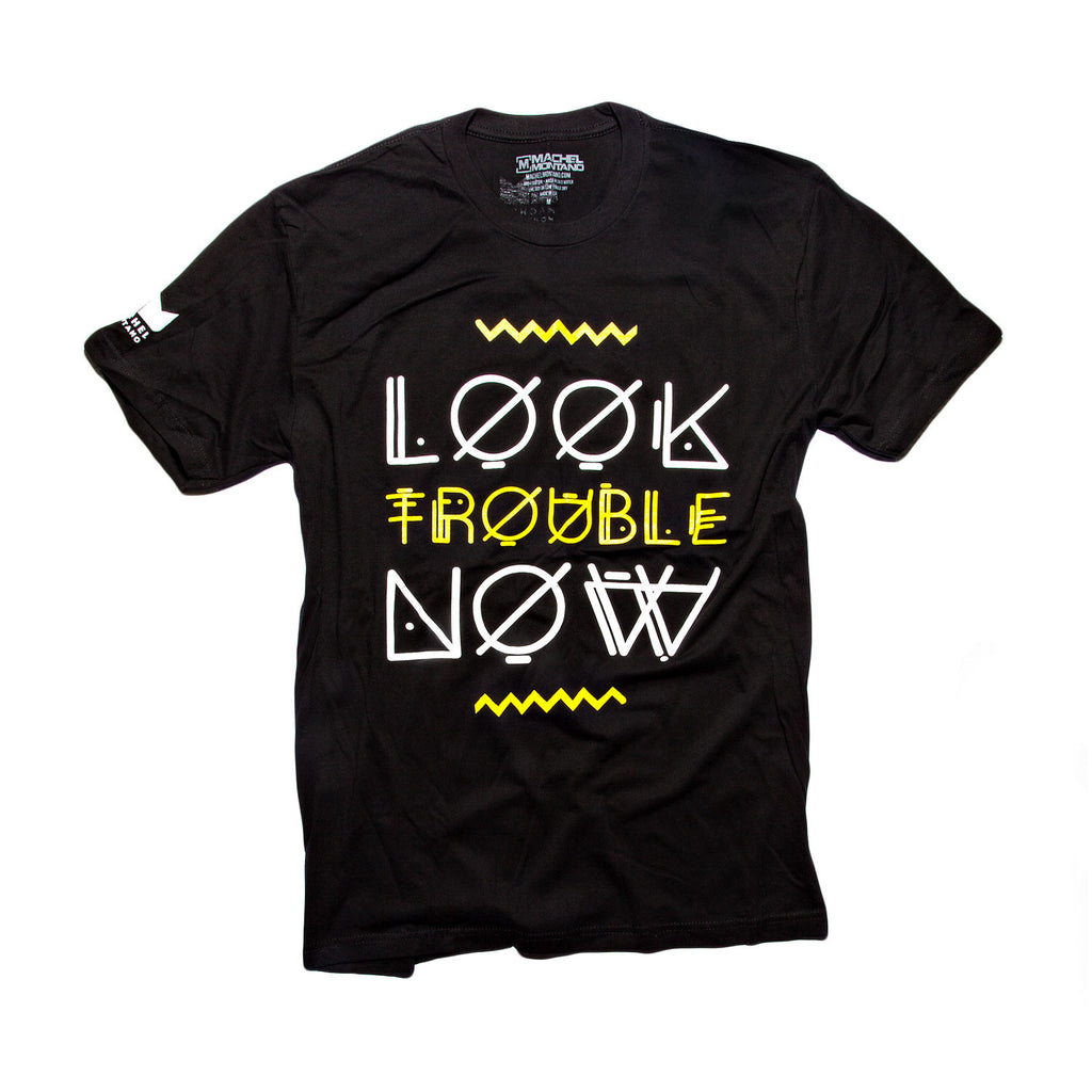 Look Trouble Now - Black/Yellow
