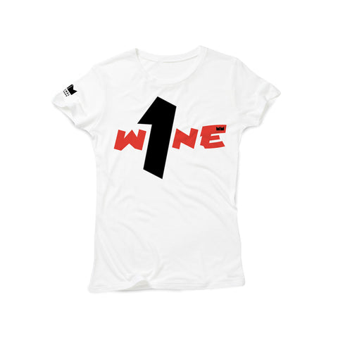 One Wine Tee - White