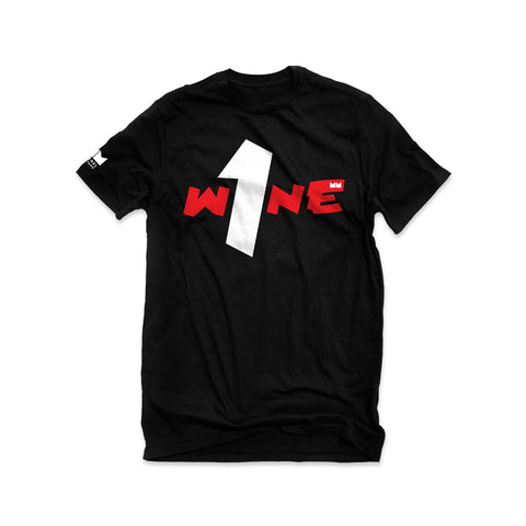 One Wine Tee - Black