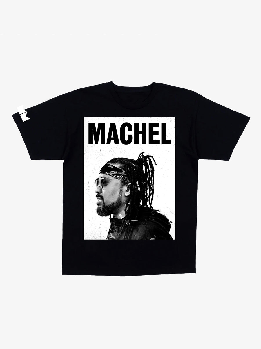 Machel- Soca Kingdom Unisex T-shirt- Black