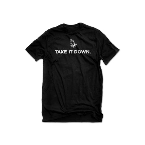 Take it Down Tee – Unisex (Black)