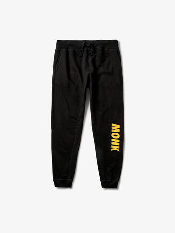 MONK Sweatpants - Black