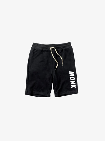 MONK Shorts - Black/White