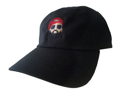 MM Face Dad Hat (Black)