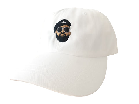 MM Face Dad Hat (White)