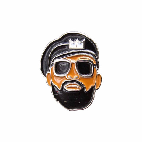 MM Face Pin