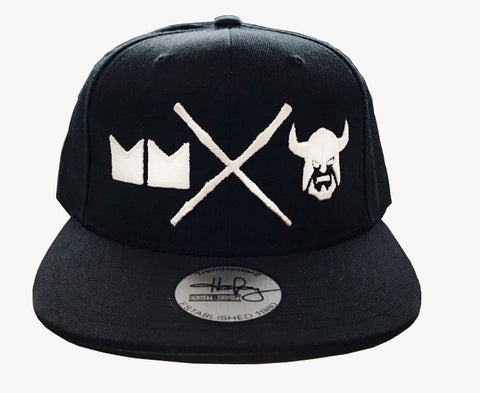 Buss Head Snapback (Black/White)