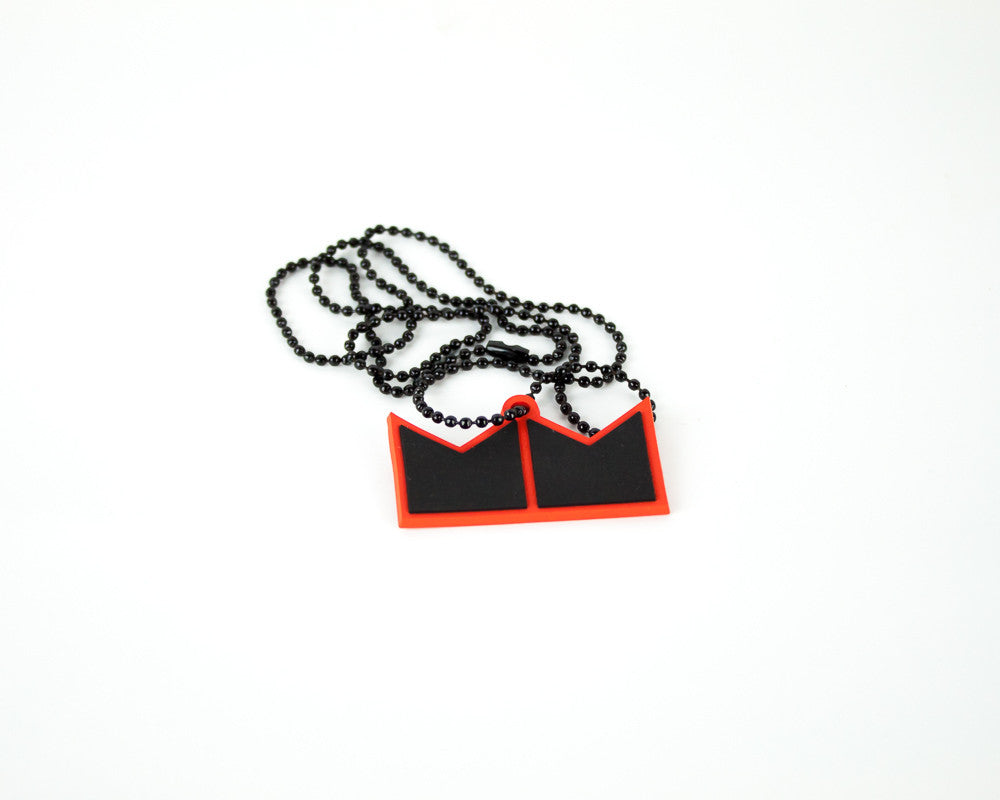 Machel Montano-Crown logo Necklace