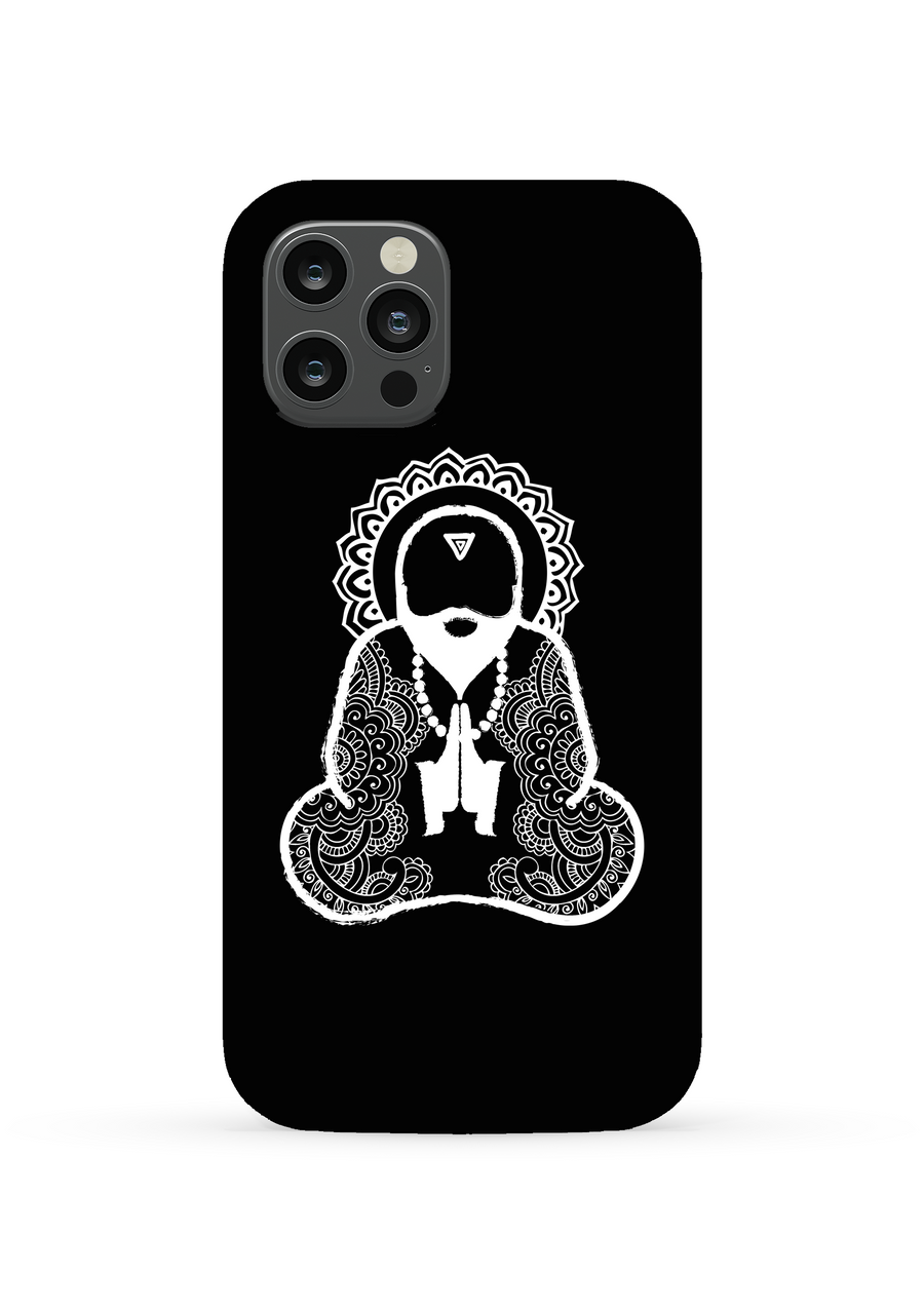 Monk Man Phone Case - Black
