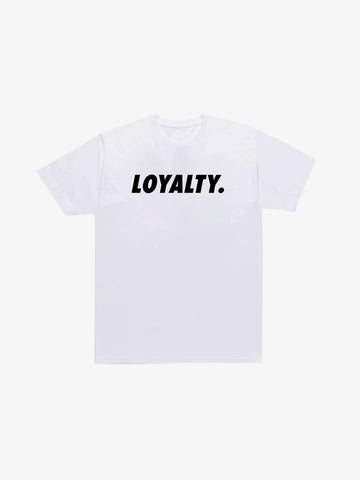 Loyalty Tee - White