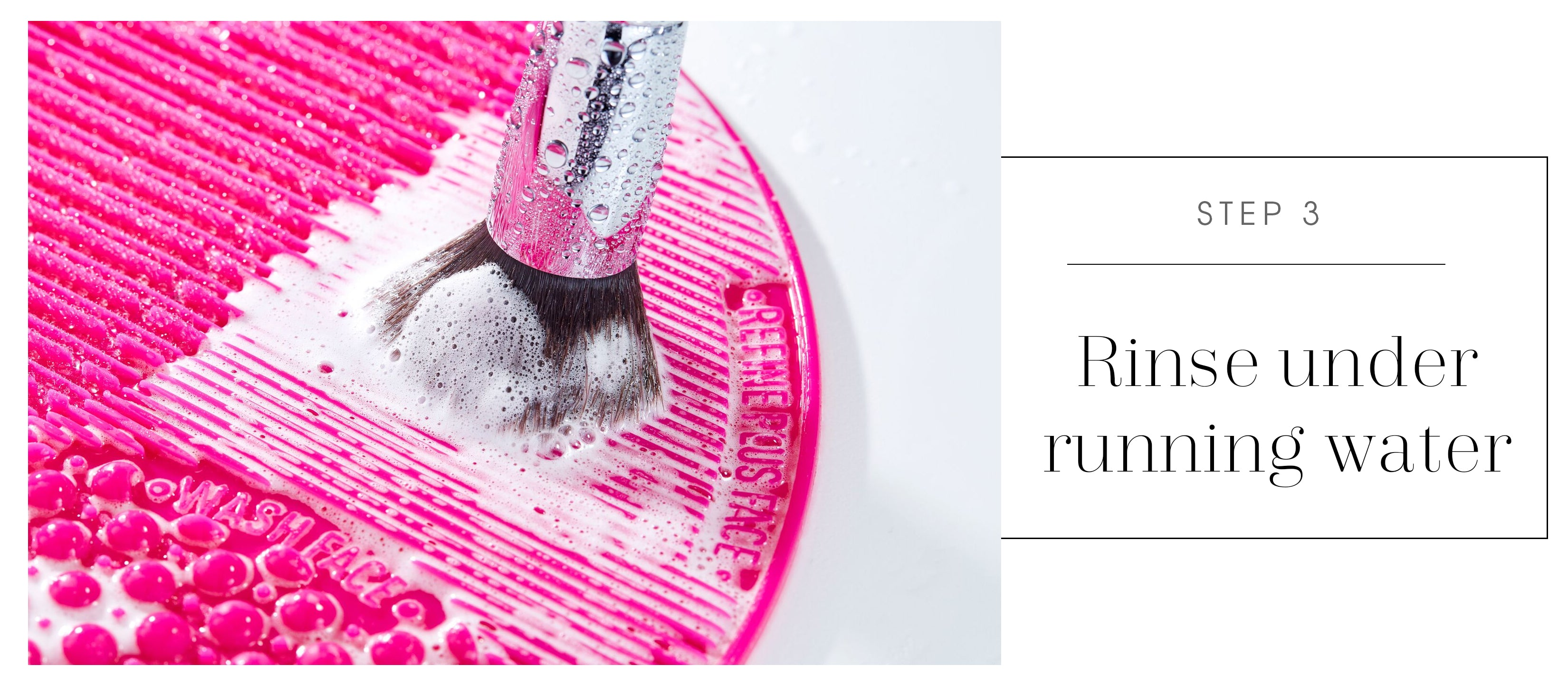 how to wash your makeup brushes