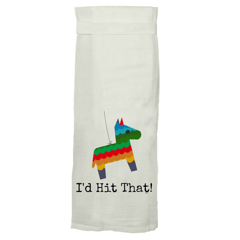 TWISTED WARES | I'd Hit That Kitchen Tea Towel
