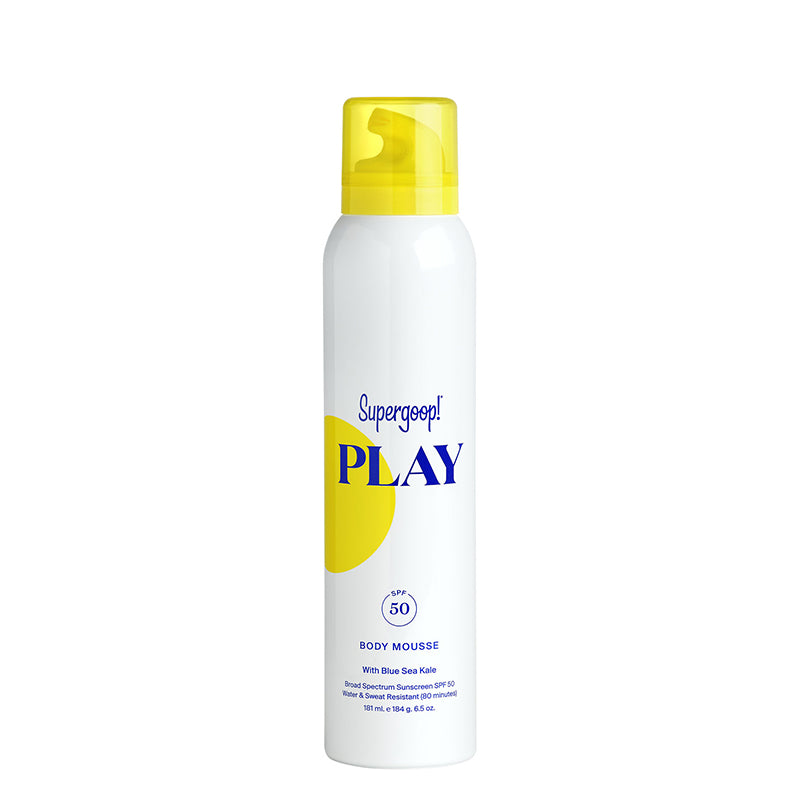 SUPERGOOP! | PLAY Body Mousse SPF 50 with Blue Sea Kale