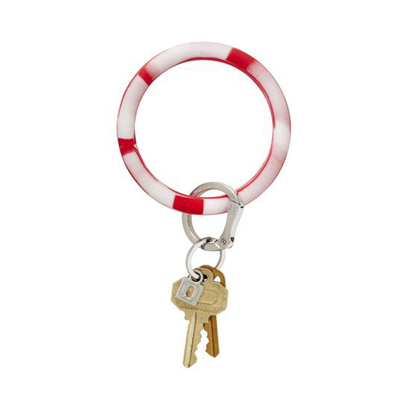 o-venture-big-o-silicone-key-ring-cherry-on-top-marble