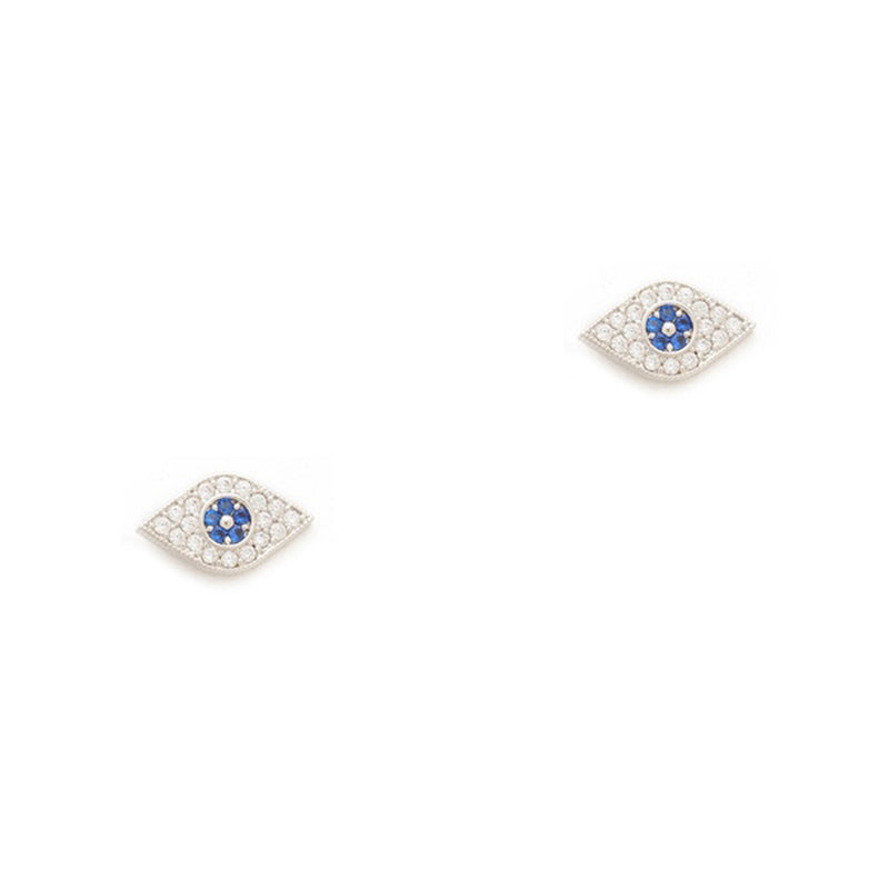 TAI RITTICHAI | Evil Eye Earrings - Silver