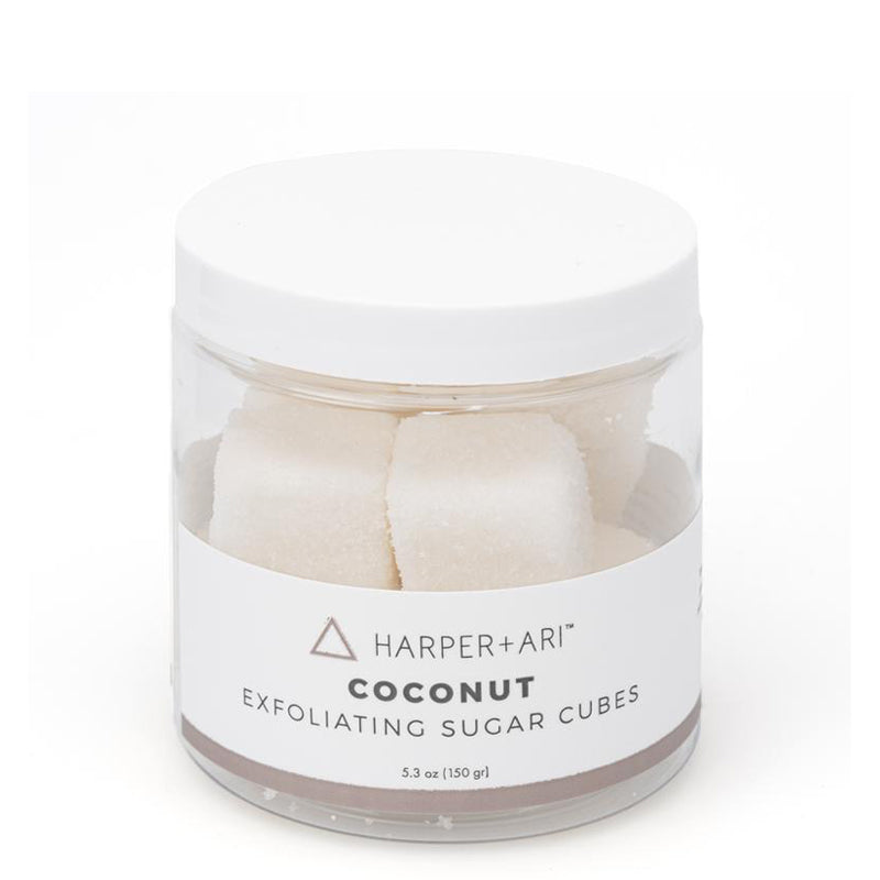 HARPER + ARI | Coconut Exfoliating Sugar Cube Jars