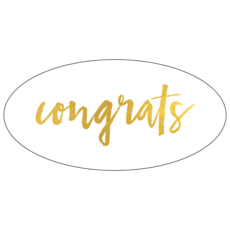 BELLE & BLUSH GIFT BAR | Congrats Sticker