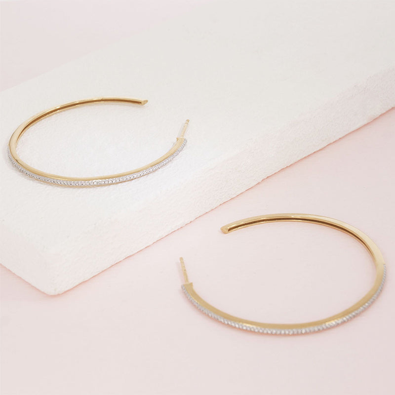 Ella Stein Hoop Earrings