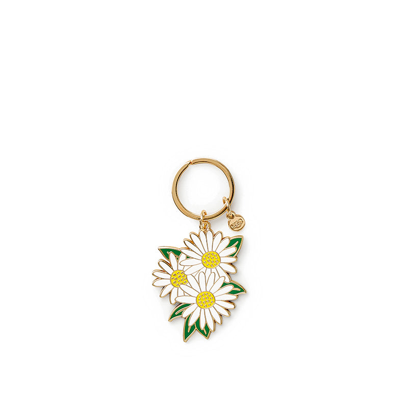 rifle-paper-co-daisies-keychain