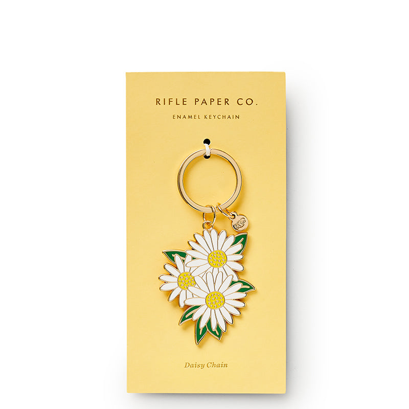 rifle-paper-co-daisies-keychain-package