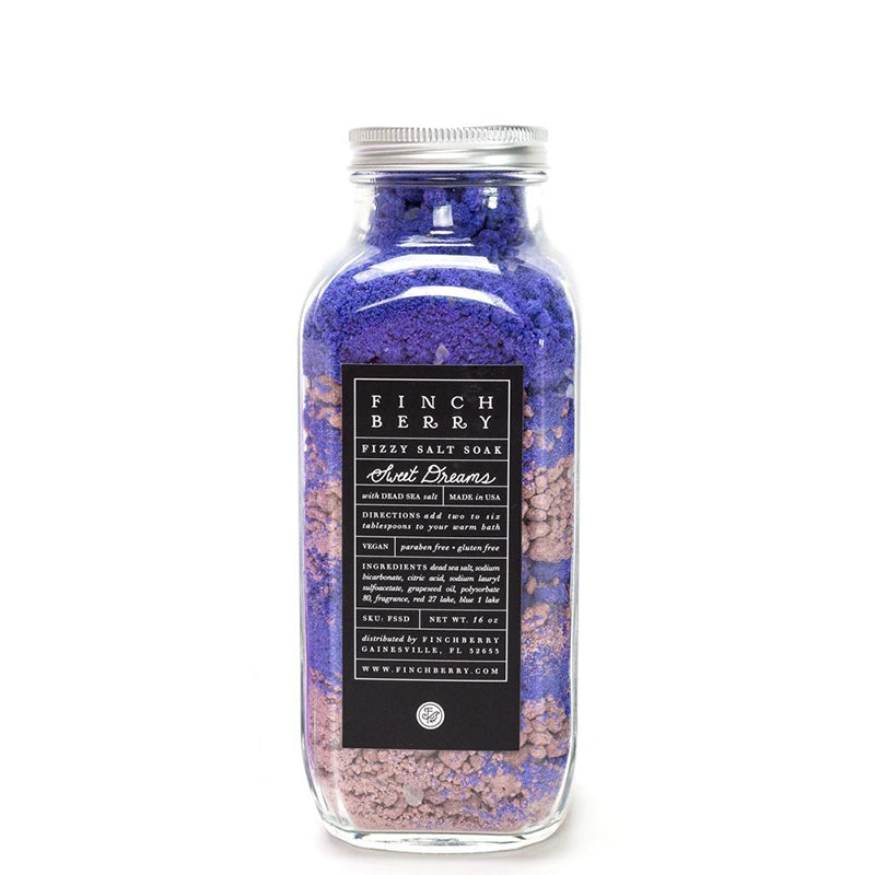 FINCHBERRY | Sweet Dreams Fizzy Salt Soak