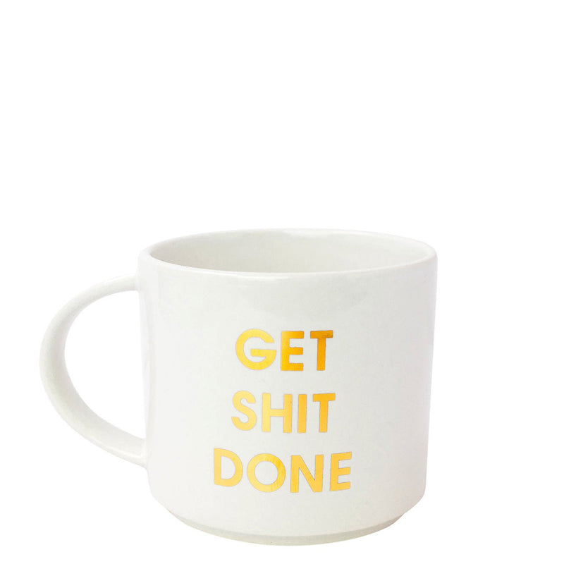 chez-gagne-get-shit-done-metallic-gold-mug