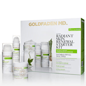 GOLDFADEN MD | Radiant Skin Renewal Starter Kit