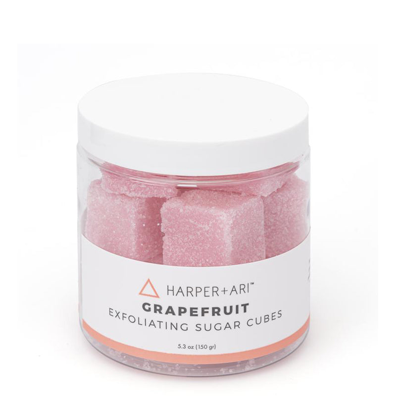 HARPER + ARI | Grapefruit Exfoliating Sugar Cube Jars