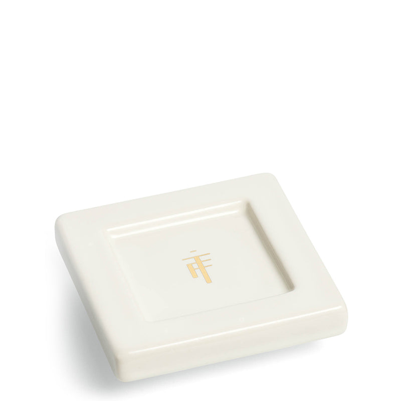 Tea Forte | Tea Trays Orchid White - Set of 2
