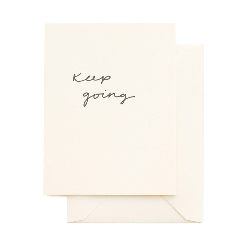 SUGAR PAPER | Keep Going Card