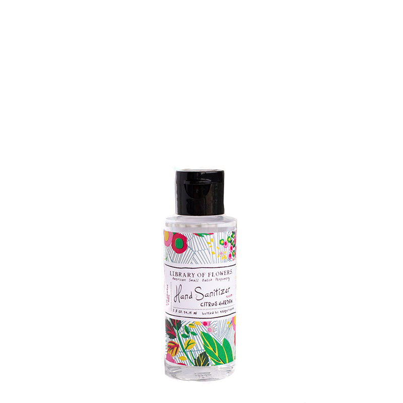 LIBRARY OF FLOWERS | Citrus Garden Hand Sanitizer Gel