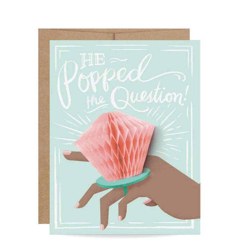 INKLINGS PAPERIE | Ring Pop-up Card