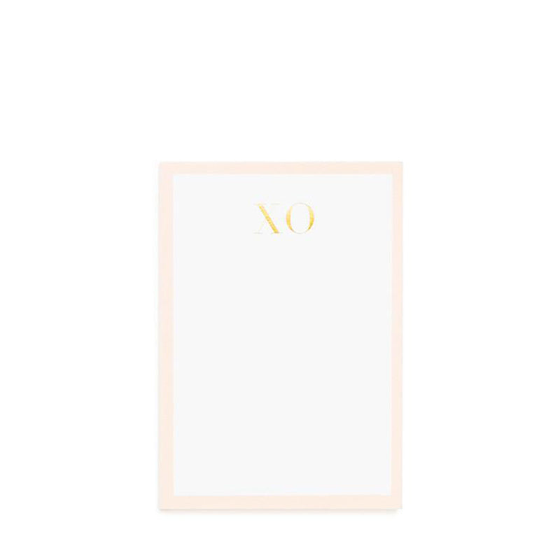 SUGAR PAPER | Mini Notepad Pale Pink XO