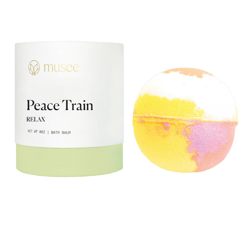 MUSEE BATH | Peace Train Boxed Bath Bomb