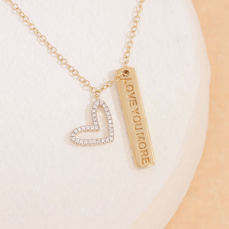 ELLA STEIN I Love You More Necklace
