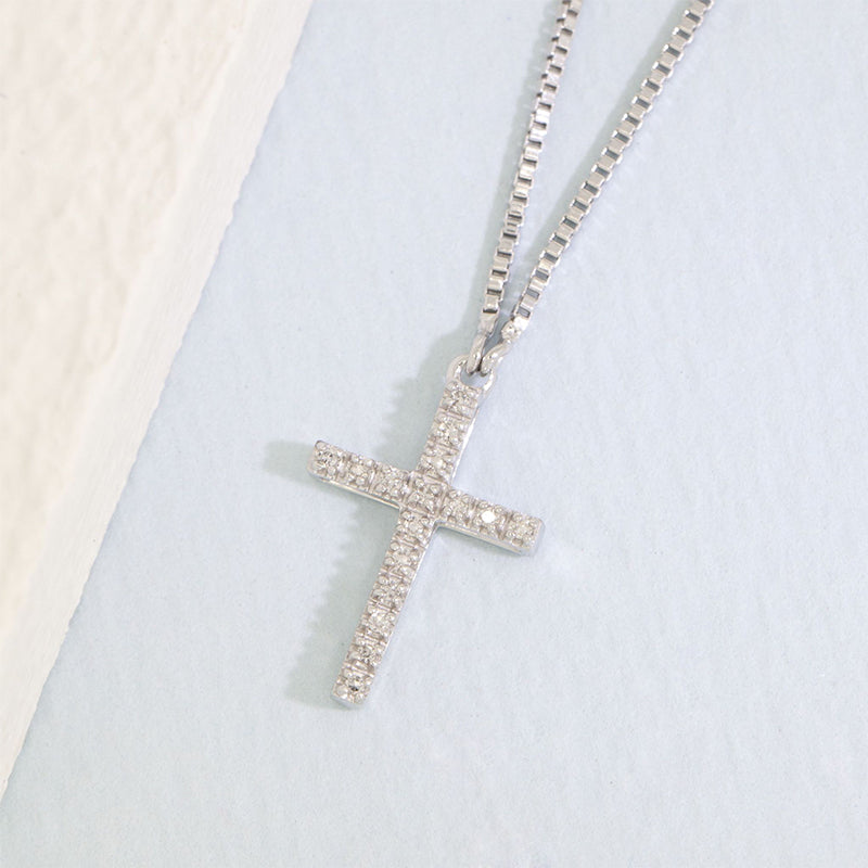 ELLA STEIN Believe Cross Necklace