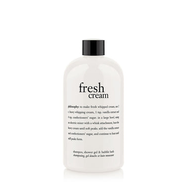 fresh cream body wash