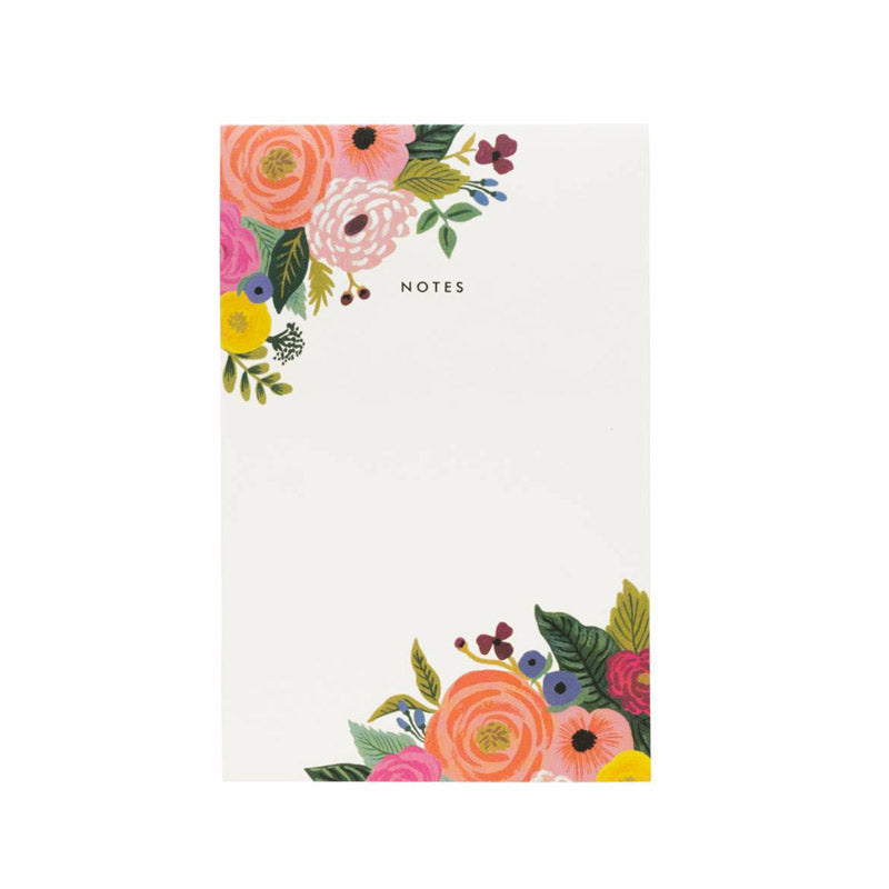 RIFLE PAPER CO. | Juliet Rose Blank Notepad