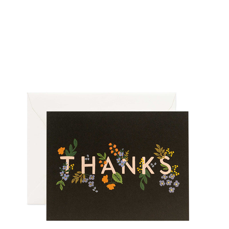 RIFLE PAPER CO. | Posey Thank You Card Set
