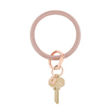 O-VENTURE | Big O Key Ring - Rose Gold
